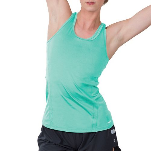 Womens Soybu Resistance Sleeveless & Tank Technical Tops - Jade XS