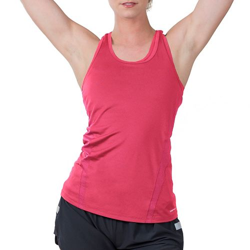 Womens Soybu Resistance Sleeveless & Tank Technical Tops - Pink L