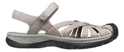 Womens Keen Rose Sandals Shoe - Aluminum/Grey 10