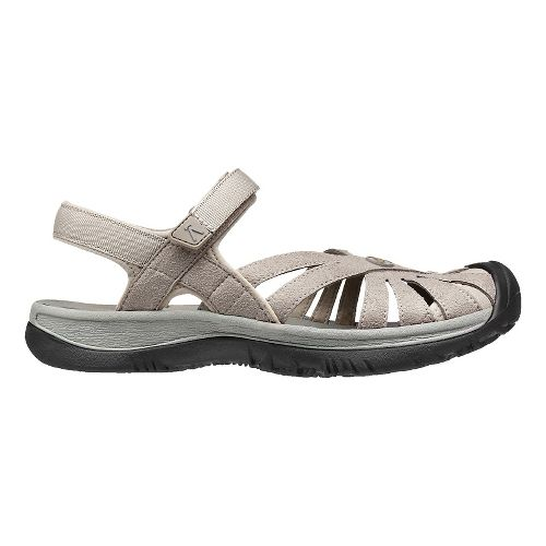 Womens Keen Rose Sandals Shoe - Aluminum/Grey 10.5