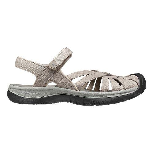 Womens Keen Rose Sandals Shoe - Aluminum/Grey 8