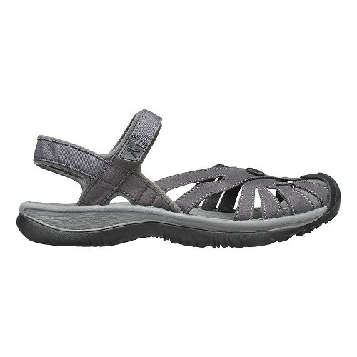 Womens Keen Rose Sandal Sandals Shoe - Aluminum/Grey 10.5