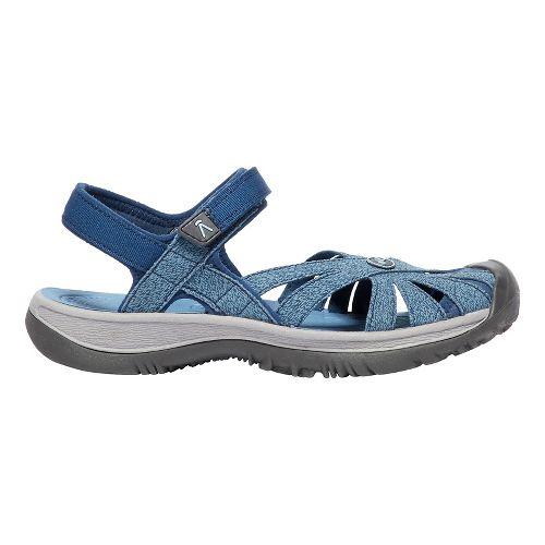 Womens Keen Rose Sandal Sandals Shoe - Blue 8
