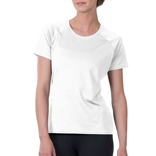 Womens Soybu Endurance SS Tee Short Sleeve Technical Tops - White XL