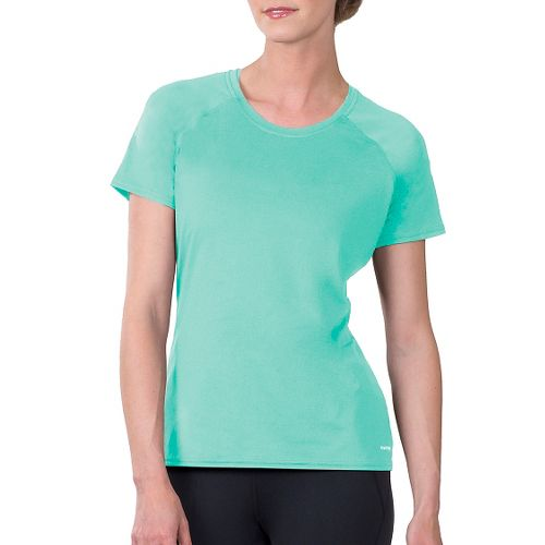 Womens Soybu Endurance SS Tee Short Sleeve Technical Tops - Jade L