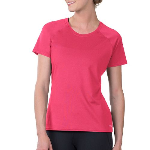 Womens Soybu Endurance SS Tee Short Sleeve Technical Tops - Pink L