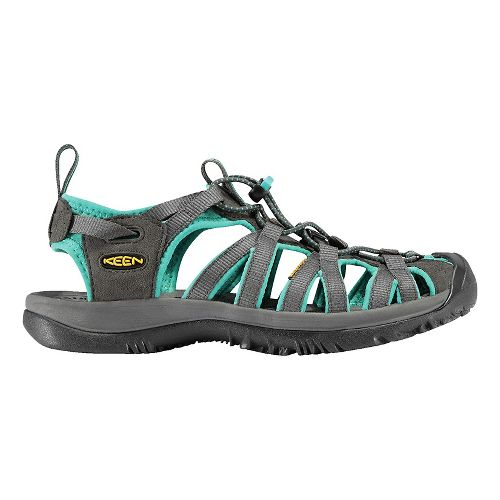 Womens Keen Whisper Sandals Shoe - Shadow/Ceramic 7