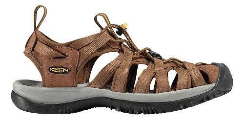 Womens Keen Whisper Sandals Shoe - Shadow/Ceramic 10