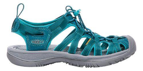 Womens Keen Whisper Sandals Shoe - Blue/Baltic 10