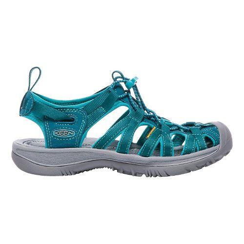 Womens Keen Whisper Sandals Shoe - Red 8