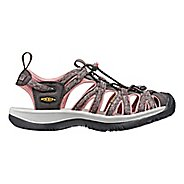 Womens Keen Whisper Sandals Shoe - Raven/Rose 11