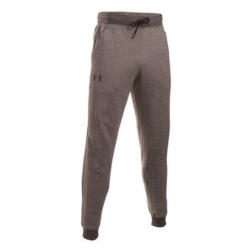 Mens Under Armour Rival Cotton Novelty Jogger Pants - Maverick Brown XXL