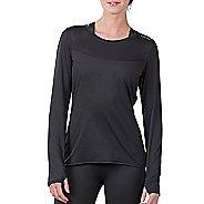 Womens Soybu Endurance LS Tee Long Sleeve Technical Tops - Black XS