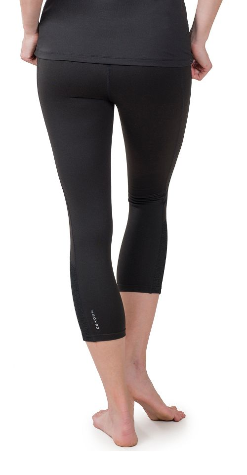 Womens Soybu Steel Core Capris Pants - Black S