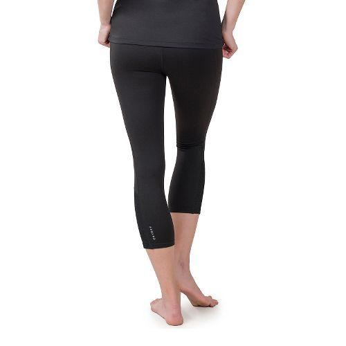 Womens Soybu Steel Core Capris Pants - Black XS