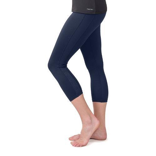 Womens Soybu Steel Core Capris Pants - Navy L