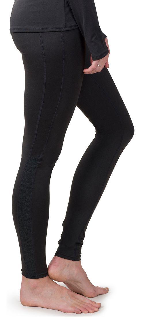 Womens Soybu Steel Core Tights & Leggings Pants - Black L