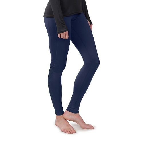 Womens Soybu Steel Core Tights & Leggings Pants - Navy L