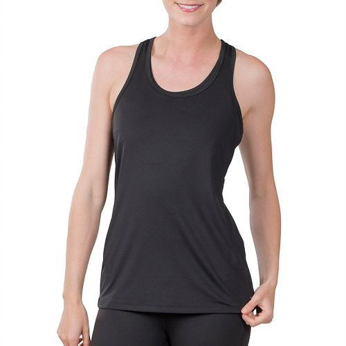 Womens Soybu Victory Sleeveless & Tank Technical Tops - Black XXL