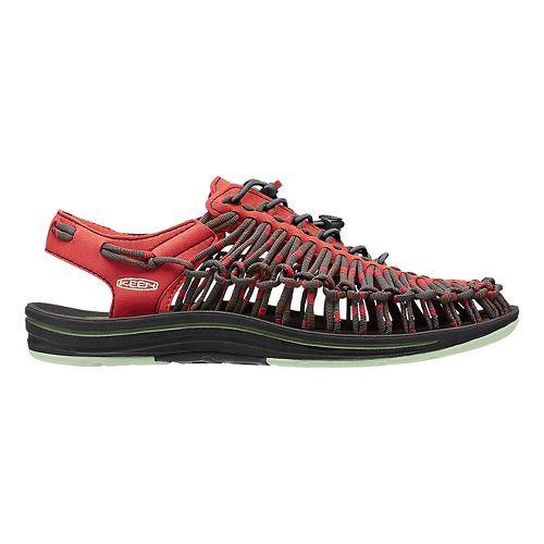 Mens Keen Uneek Makuraku Casual Shoe - Red/Brown 10.5