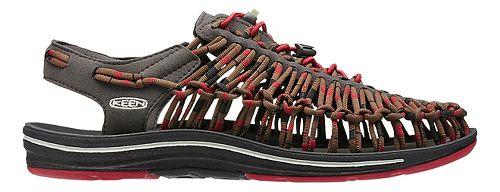 Mens Keen Uneek Makuraku Casual Shoe - Red/Brown 8.5