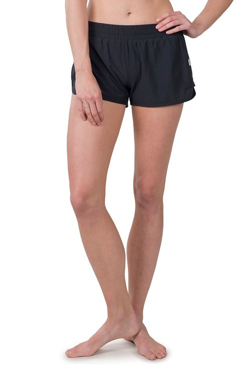 Womens Soybu Marathon Running Lined Shorts - Black S