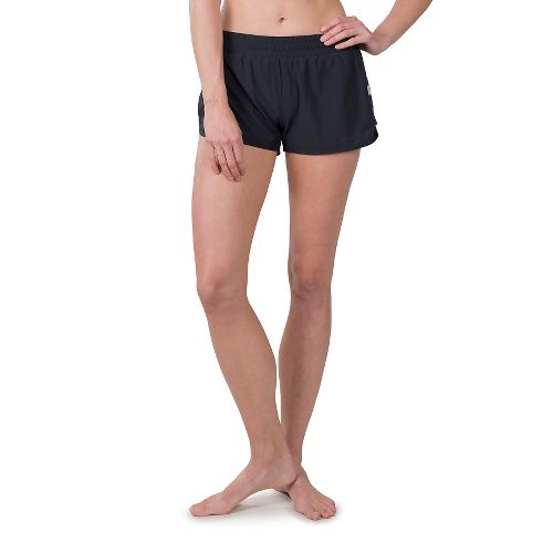Womens Soybu Marathon Running Lined Shorts - Black XS