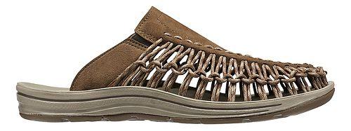 Mens Keen Uneek Slide Casual Shoe - Earth/Brindle 7.5