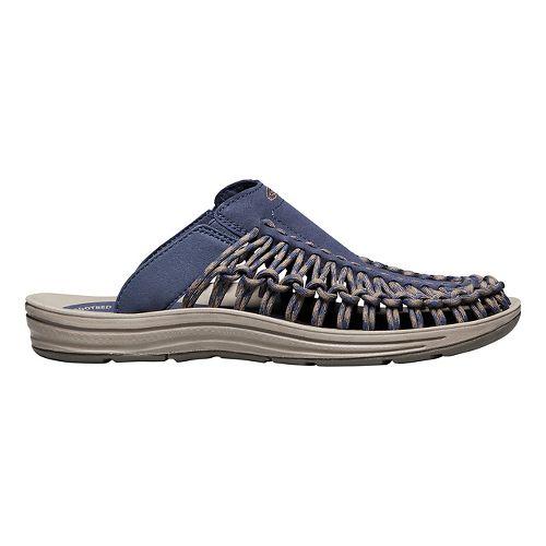 Mens Keen Uneek Slide Casual Shoe - Black/Black 10