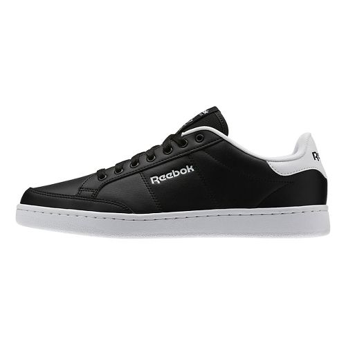 Mens Reebok Royal Smash Casual Shoe - Black/White 7