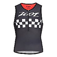 Mens Zoot Tri Cali Sleeveless & Tank Technical Tops