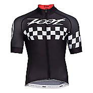 Mens Zoot Cycle Cali Jersey Short Sleeve Technical Tops