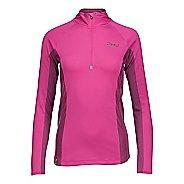 Womens Zoot Ocean Side 1/2 Zip Long Sleeve Technical Tops