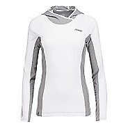 Womens Zoot Ocean Side Hoodie Long Sleeve Technical Tops