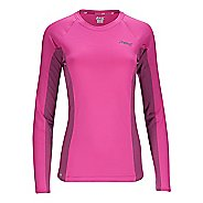 Womens Zoot Ocean Side Long Sleeve Technical Tops
