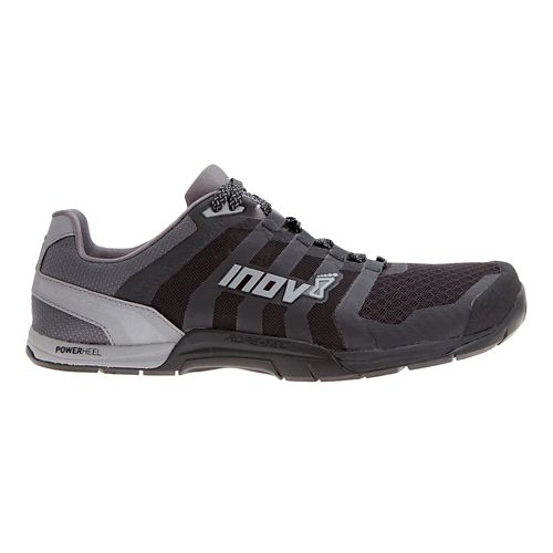 Mens Inov-8 F-Lite 235 v2 Cross Training Shoe - Black/Grey 10.5