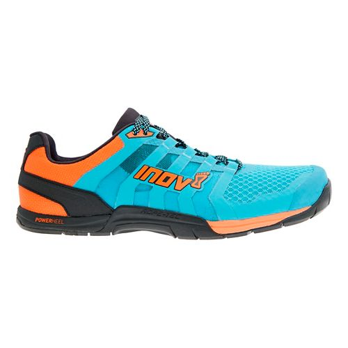 Mens Inov-8 F-Lite 235 v2 Cross Training Shoe - Blue/Orange 12.5