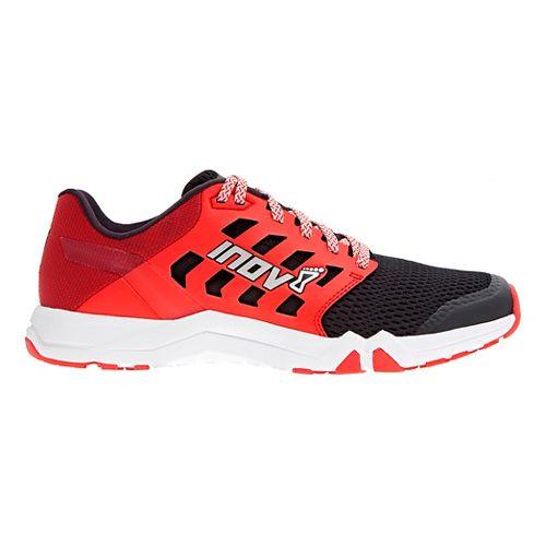 Mens Inov-8 All Train 215 Cross Training Shoe - Black/Red 13