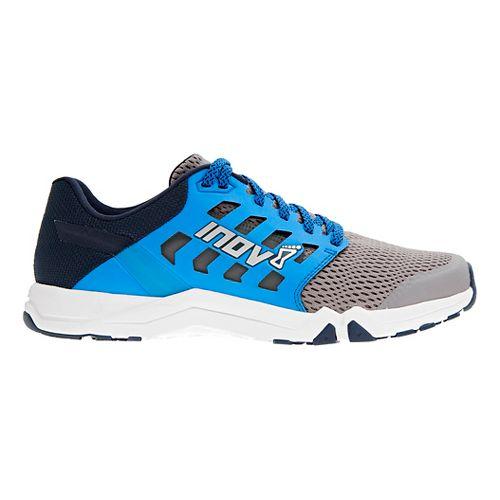 Mens Inov-8 All Train 215 Cross Training Shoe - Grey/Blue 12.5