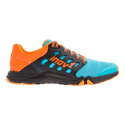 Mens Inov-8 All Train 215 Cross Training Shoe - Blue/Orange 8.5