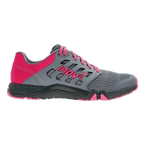 Womens Inov-8 All Train 215 Cross Training Shoe - Grey/Pink 9.5
