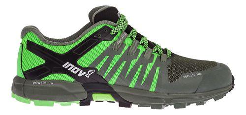 Mens Inov-8 Roclite 305 Trail Running Shoe - Green/Black 10.5