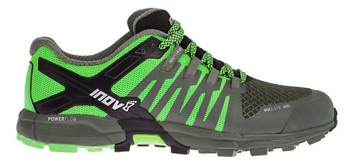 Mens Inov-8 Roclite 305 Trail Running Shoe - Green/Black 8.5