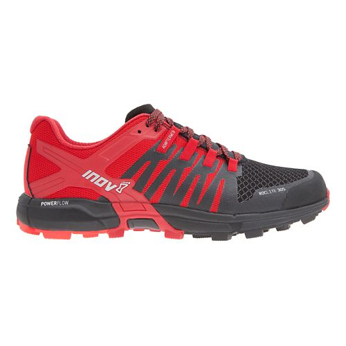 Mens Inov-8 Roclite 305 Trail Running Shoe - Red/Black 11.5