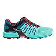 Womens Inov-8 Roclite 305 Trail Running Shoe - Teal/Red 10