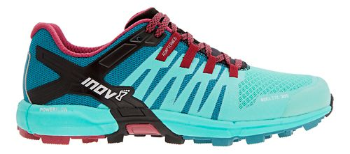 Womens Inov-8 Roclite 305 Trail Running Shoe - Teal/Red 7.5