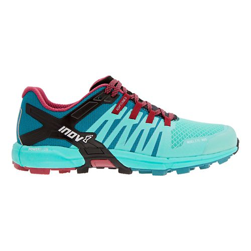 Womens Inov-8 Roclite 305 Trail Running Shoe - Teal/Red 9