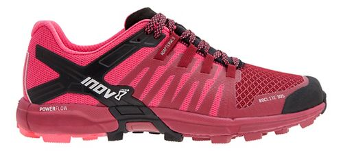 Womens Inov-8 Roclite 305 Trail Running Shoe - Dark Red/Pink 7