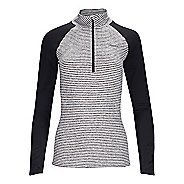 Womens Zoot Liquid Core 1/2 Zip Long Sleeve Technical Tops