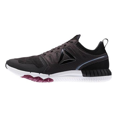 Womens Reebok ZPrint 3D Running Shoe - Black/White 7